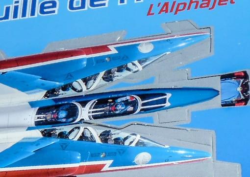 Paper toy Alphajet