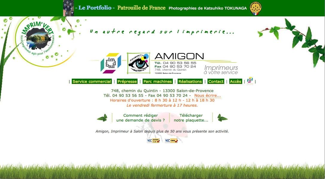 Le site de l'imprimerie Amigon-Rimbaud en 2006
