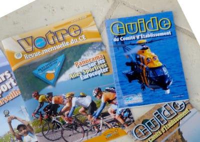 Diverses brochures CE Eurocopter