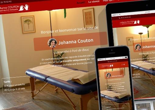 Site de J. Couton, OstéopatheD.O.